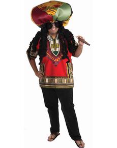 Disfraz de rasta ridículo para hombre