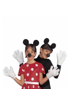 Set de disfraz de ratón pequeño para niños