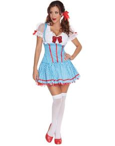 Disfraz de Dorothy sexy para mujer