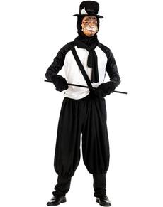 Disfraz de gato callejero para hombre