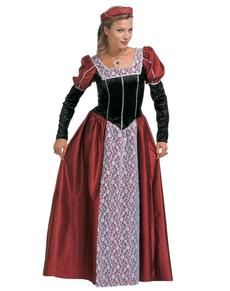 Disfraz de cortesana elegante para mujer talla extra grande