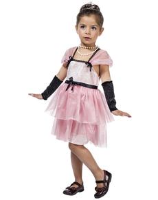 Disfraz de estrella de cine Holly para niña