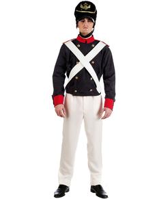 Disfraz de soldado ruso para hombre