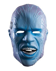Máscara Electro The Amazing Spiderman 2 deluxe para adulto