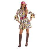 Disfraz de mujer de los años 70