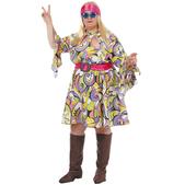 Disfraz de los años 70 mujer XXL