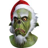 Máscara Green Santa Halloween