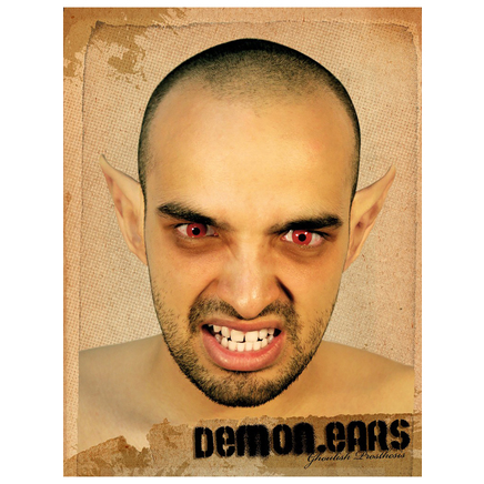 maquillage demon ears halloween acheter en ligne sur. Black Bedroom Furniture Sets. Home Design Ideas