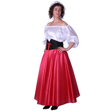 Disfraz de doncella