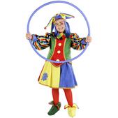 Disfraz de arlequín para niña