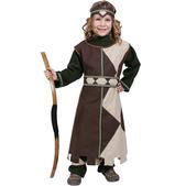 Disfraz de arquera para niña