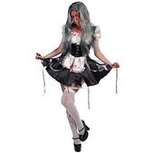 Disfraz de criada zombie