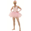 Disfraz bailarina tutú rosa hombre