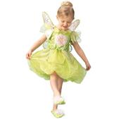 Disfraz de Campanilla Platinum para niña