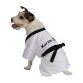 Costume de karateka pour chien