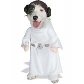 Costume de princesse Leia pour chien