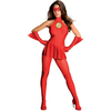 Disfraz de flash para chica