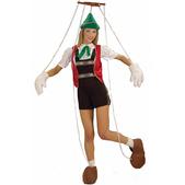Disfraz de pinocha marioneta