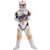 Costume de Commandant Cody Clone Trooper haut de gamme pour garçon