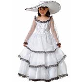 Disfraz de escarlata para niña