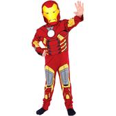 Disfraz de Iron Man Deluxe niño