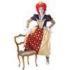 Disfraz de Reina de Corazones Deluxe