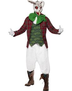 Disfraz del Conejo blanco de Alicia en el País de las Maravillas