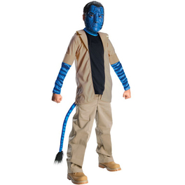 Disfraz de Jake Sully Avatar niño