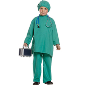 Disfraz de médico para niño