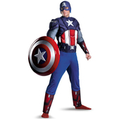 Disfraz de Capitán América Los Vengadores