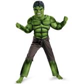 Disfraz de Hulk Los Vengadores musculoso niño