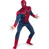 Disfraz de Amazing Spiderman Movie musculoso