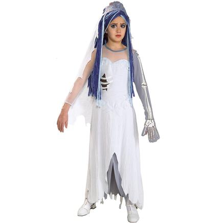 Disfraz de La Novia Cadáver para niña