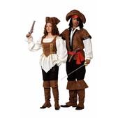 Disfraz de pirata lujo hombre