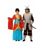 Disfraz de samurai