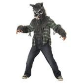 Disfraz de hombre lobo maldito para niño