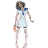 Costume de femme mousse zombie