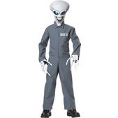 Fato de Alien Área 51 para menino