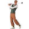 Disfraz de jugador golf deluxe